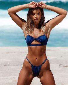 Solid Bikini Mujer Sexy Swimwear Swimsuit Bathing Suit Women Adjust Bikini Push UP Beach Wear Biquini Monokini Sexy Bikini, Mini Bikini, Brasilianischer Bikini, Bikini String, Bikini Babes, Monokini, Push Up Swimsuit, Mädchen In Bikinis, Brazilian Bikini