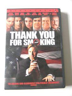Thank You For Smoking (DVD, 2006, Widescreen)