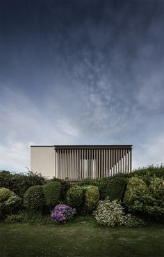 Cliff House, Gower Peninsula, UK, by Hyde + Hyde Architects.