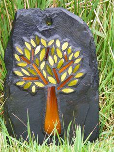 Tree mosaic           #garden #mosaic