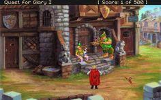 Quest for Glory 1: So You Want to Be a Hero (VGA). VGA версия всеми знакомой игры «Quest for Glory 1″. Чуть улучшили графику, заменили текстовое управление на верхнюю панель с управлением, переделали музыку. Во всем остальном игра похожа с оригиналом.