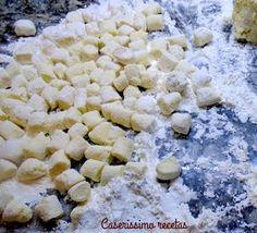 Pasta Casera, Salty Foods, Ravioli, Feta, Food Porn, Veggies, Gluten Free, Cooking Recipes, Cheese