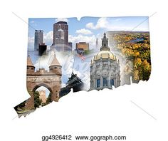 """""""Connecticut Collage"""" -Connecticut Stock Photo from gograph.com"""