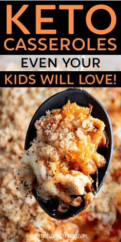 Your kids will LOVE these keto casserole recipes! These keto chicken casseroles . - Keto Recipes Your kids will LOVE these keto casserole recipes! These keto chicken casseroles . Ketogenic Recipes, Low Carb Recipes, Diet Recipes, Ketogenic Diet, Slimfast Recipes, Crockpot Recipes, Dessert Recipes, Chicken Recipes, Recipes Dinner