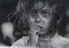 It's not a foto. This is extraordinary example of the drawing art...Olga Melamory Larionova.