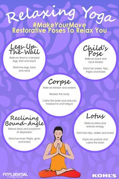 Yoga for better sleep and relaxation