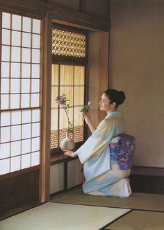 """Koyuki es una actriz japonesa, conocida mundialmente por su papel en la película """"The Last Samurai"""""""