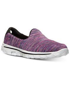 Skechers Women s GOwalk 2 - Hypo Walking Sneakers from Finish Line Shoes -  Finish Line Athletic Sneakers - Macy s c9180e8b9d