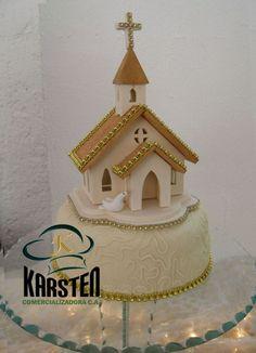 Torta - idea para capilla 2 (perosin el dorado)