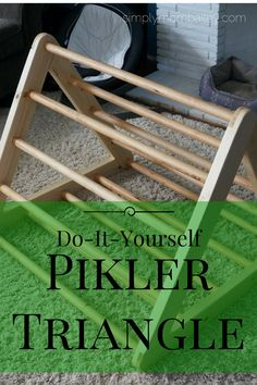 DIY Pikler Triangle