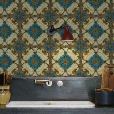 Kuchyňská tapeta zástěna KitchenWalls - Majolica 1434