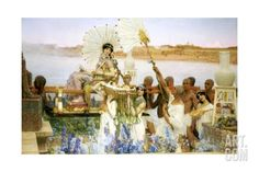The Finding of Moses Giclee Print by Lawrence Alma-Tadema at Art.com