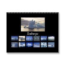 Icebergs Calendar
