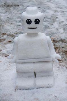 Lego Man Snowman