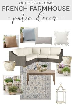 Outdoor Rooms   If you enjoy treating your exterior spaces like outdoor rooms, you will be inspired by the evolution of our patio decor and where it's headed next. -----> #patiodecor #patiodecoratingideas #outdoordecor #outdoorrooms #outdoorentertaining #backyardpatioideas #outdoordecorating #patiofurniture