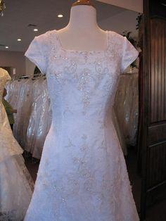 Dinetti 1827M Modest Wedding Dress