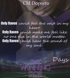 The Raven returns in two days! The Winning Side by CM Doporto