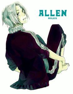 D. Gray-Man | Allen Walker.