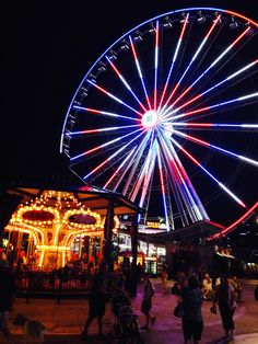 The Island in Pigeon Forge is a great place to bring your friends and family for a good time!