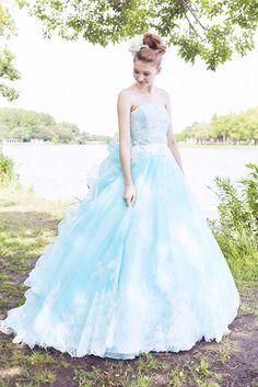 no.23783 - COLOR | 新宿でウェディングドレスをレンタルするならブライダルサロンHANA