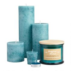 Brazilian Orchid Candle Collection - v1