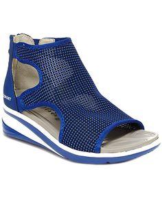 0d5c2046f14c Jsport by Jambu Women s Nadine Knit Wedge Sandal  Women