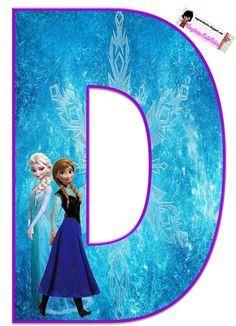 alfabeto da frozen pra imprimir - Pesquisa Google