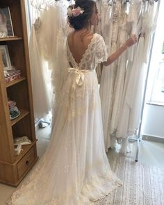 Amelie Draped Sleeves in 2020 Making A Wedding Dress, Dream Wedding Dresses, Wedding Gowns, Wedding Attire, Boho Wedding, Cute Wedding Ideas, Wedding Inspiration, Wedding Dress Sleeves, Dresses With Sleeves