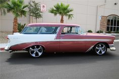 1956 Chevy Nomad Maintenance of old vehicles: the material for new cogs/casters/gears/pads could be cast polyamide which I (Cast polyamide) can produce Chevrolet Nomad, Chevy Nomad, My Dream Car, Dream Cars, Classic Trucks, Classic Cars, Chevy Girl, Jackson, Fancy Cars