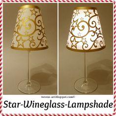Wesens-Art: Star-Wineglass-Lampshade