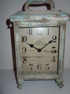Colonial Tin Works Metal Carriage Clock #ColonialTinWorks #AntiqueStyle