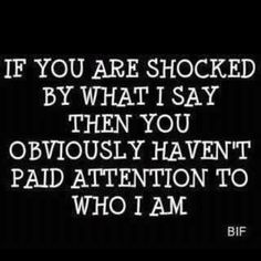 I should have had this on a button to wear to every meeting in which I've said things that got me frowned at!!