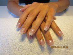 Soft white by DamnUnique - Nail Art Gallery nailartgallery.nailsmag.com by Nails Magazine www.nailsmag.com #nailart