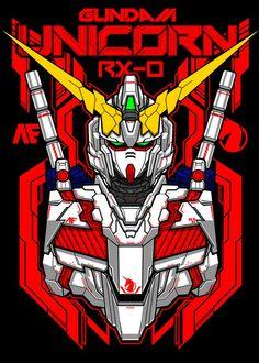 Arte Gundam, Gundam Art, Gundam Head, Gundam Wing, Star Wars Silhouette, Unicorn Mobile, Unicorn Poster, Graffiti Pictures, Psychedelic Drawings