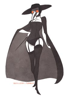 Artist credit is too obscured for me to read. Plague Mask, Plague Doctor Mask, Plague Dr, Medieval Plague Doctor, Plague Doctor Halloween Costume, Halloween Costumes, Plauge Doctor, Doctor Stuff, Doctor Drawing