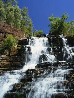 Fortescue Falls, Karijini National Park, Pilbara, Western Australia, Australia, Pacific