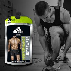 #ADIDAS #Polybag for #performance #underwear #packaging #fitness #athletic #lifestyle #sportslabel #sports #sportswear #activelifestyle #men