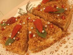 Emine Beder'den Elma Püreli Bayat Ekmek Turtası tarifi
