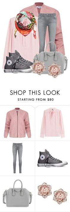 """""""Untitled #80"""" by firehiwot-getahun ❤ liked on Polyvore featuring Helmut Lang, M Missoni, AG Adriano Goldschmied, Converse, Givenchy and Christian Lacroix"""