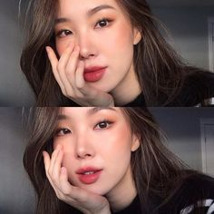 asian makeup – Hair and beauty tips, tricks and tutorials Asian Makeup Looks, Korean Makeup Look, Korean Makeup Tips, Natural Makeup Looks, Korean Makeup Tutorials, Fresh Makeup, Simple Makeup, Skin Makeup, Oil Free Makeup