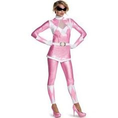 Adult Pink Ranger Bustier Costume - Power Rangers - Adult Small by Spirit Halloween