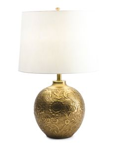 Made In India Antique Brass Table Lamp Lamp Shade, Table Lamp Base, Lamp, Brass Table Lamps, Home Decor, Lamp Bases
