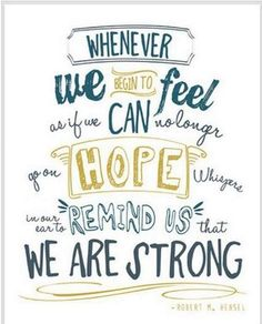 Stay strong and keep fighting, every day use all take on one huge massive fight, this daily fight makes you stronger, day by day you make the world proud by giving your best. Be proud of yourself because we all sure are! Keep fighting strong keep positive and keep going on!! - Es 💕