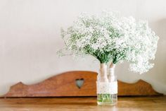 Frikkie and Elanie's Wedding Diy Flowers, Flower Decorations, Baby's Breath, Jar, Photography, Wedding, Inspiration, Mariage, Biblical Inspiration