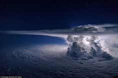Cumulonimbus clouds are menacing looking multi-level clouds, extending high into the sky in towers or plumes. Otherwise known as thunderclouds, cumulonimbus are the only cloud type that can produce hail, thunder and lighting