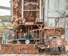 Junk  #DIY Farm sign by Grit Antiques