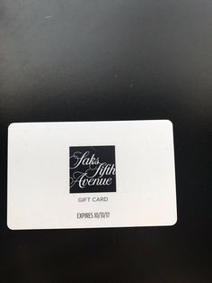 awesome Saks Fifth Avenue $450 Reward Card Expires 10/31/2017 Check more at https://aeoffers.com/product/gift-cards/saks-fifth-avenue-450-reward-card-expires-10312017/