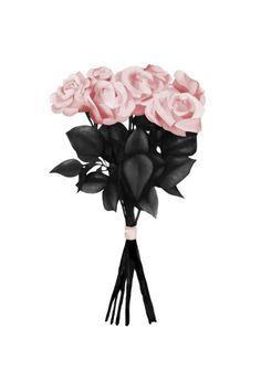 Pink Bouquet av Peytil - Poster för dina väggar från Gallerix, pris från 79 kr. Besök oss på https://www.gallerix.se