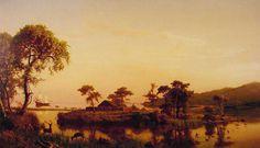 Gosnold at Cuttyhunk, Albert Bierstadt