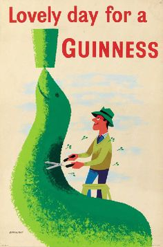 Got Guinness on the brain.